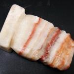 ▽หินหมูสามชั้น pork stone (130g)