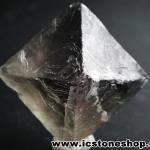▽หินธรรมชาติฟลูออไรต์ -Fluorite ทรงพีระมิดคู่ bipyramid (50g)