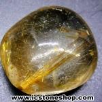 =โปรโมชั่น= พลอยไหมทอง Golden Rutilated Quartz (43.5ct.)