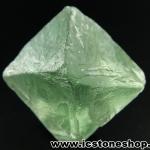 หินฟลูออไรต์ (Fluorite) ธรรมชาติทรงพีระมิคคู่ (7g)