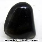 ออบซิเดียน (Obsidian)ขัดมันขนาดพกพา (7g)