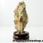 ▽ไรโอไลต์ตานก Birds Eye Rhyolite ตั้งโต๊ะ ฐานไม้ (30g)