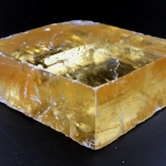 ▽แคลไซต์สีทอง Golden CALCITE (129g)