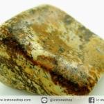 พิคเจอร์แจสเปอร์ (Picture Jasper) หินขัดมันขนาดพกพา (27g)