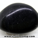 ออบซิเดียน (Obsidian)ขัดมันขนาดพกพา (11g)