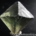 ▽หินธรรมชาติฟลูออไรต์ -Fluorite ทรงพีระมิดคู่ bipyramid (49g)
