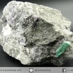 ผลึกมรกตธรรมชาติในก้อนแร่ขนาดใหญ่ (Emerald on Matrix ) (3.45Kg)