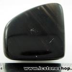 หินออบซิเดียน (Obsidian)ขัดมันขนาดพกพา (37g)