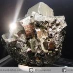ผลึกกลุ่มไพไรต์ Pyrite เปรูแหล่งสวยสุดในโลก (62g)
