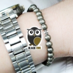 ▽BLACK OWL -PYRITE 6mm.