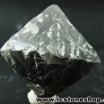 ▽หินธรรมชาติฟลูออไรต์ -Fluorite ทรงพีระมิดคู่ bipyramid (47g)