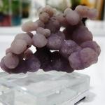 อาเกตพวงองุ่น Grape Agate พร้อมฐาน (13g)