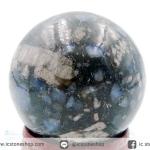 VULCANITE (QUE SERA) Llanite จากบราซิล ทรงบอล 4 cm.