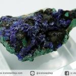 อซูไรต์ มาลาไคท์ Azurite/Malachite ธรรมชาติ (10g)