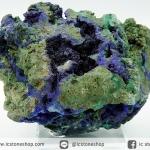อซูไรต์ มาลาไคท์ Azurite/Malachite ธรรมชาติ เกรด A (316g)