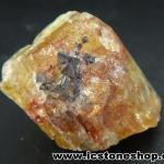 ํYellow Apatite อพาไทต์สีเหลือง กับแมกนีไทต์ มี iron oxide แทรก(6.2g)