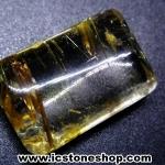 ▽=โปรโมชั่น= พลอยไหมทอง Golden Rutilated Quartz (6.50ct.)