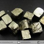 เพชรหน้าทั่ง หรือไพไรต์ pyrite ทรงลูกบาศก์ 11 ชิ้น (22g)