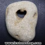 โฮเลย์สโตน Holey Stone 1 รูทะลุผ่าน รูปหัวใจ (15g)