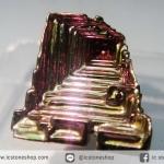 บิสมัท Bismuth รูปแบบแร่ที่มนุษย์ทำขึ้น(2.7g)