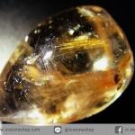 =โปรโมชั่น= พลอยไหมทอง Golden Rutilated Quartz (25.20ct.)