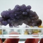 อาเกตพวงองุ่น Grape Agate พร้อมฐาน (15g)