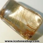 =โปรโมชั่น= พลอยไหมทอง Golden Rutilated Quartz (11ct.)