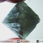 หินธรรมชาติฟลูออไรต์ -Fluorite ทรงพีระมิดคู่ bipyramid (41g)