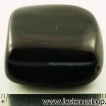 หินมะฮอกกานี ออบซิเดียน (Mahogany Obsidian)ขัดมันขนาดพกพา (50g)