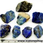 ลาพิส ลาซูลี่ Lapis Lazuli ก้อนธรรมชาติ 8 ชิ้น (103g)