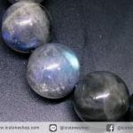 สร้อยข้อมือ ลาบราดอไลท์ (Labradorite) 12mm.