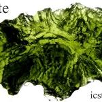 สะเก็ดดาวโมลดาไวท์(moldavite)