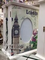 ตู้แขวนกุญแจ ของแต่งบ้านวินเทจ ลายหอนาฬิกา London