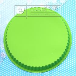 แม่พิมพ์ซิลิโคนเค้กปอนด์ วงกลมหยัก 23 เซนติเมตร