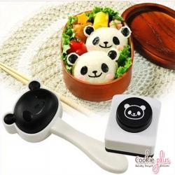 อุปกรณ์ทำเบนโตะ พิมพ์กดข้าวปั้น หน้าหมีแพนด้า