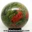 ▽ยูนาไคต์ (Unakite) ทรงบอล หินทรงกลม 7.6 cm thumbnail 4
