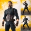 S.H. Figuarts - Captain America (Avengers: Infinity War)(Pre-order) thumbnail 1