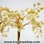 ต้นไม้มงคล หินหยกน้ำผึ้ง+ควอตซ์ ใช้เสริมฮวงจุ้ย โต๊ะทำงาน (527g) thumbnail 4
