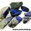 ลาพิส ลาซูลี่ Lapis Lazuli ก้อนธรรมชาติ 8 ชิ้น (104g) thumbnail 2