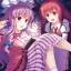 "Touhou Nami no Amamiya - Wall Scroll ""Patchouli & Koakuma"" -illust. Noel Noe-(Pre-order) thumbnail 1"