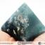 หินทรงพีระมิค- มอสอาเกต Moss Agate (186g) thumbnail 14