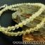 ▽สร้อยคอ ไหมทอง (Rutilated Quartz ) 4 mm. thumbnail 6