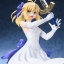 Fate/staynight [Unlimited Blade Works] - Saber White Dress Ver. 1/8 Complete Figure(Pre-order) thumbnail 15