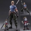 Play Arts Kai - FINAL FANTASY VII ADVENT CHILDREN: Cid Highwing & Cait Sith(Pre-order) thumbnail 1