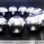 ▽สร้อยข้อมือ เทราเฮิร์ต (Terahertz) 16mm./14เม็ด thumbnail 3