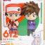Nendoroid Pokémon Trainer Red & Green thumbnail 1