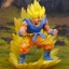 Dracap Memorial 02 Dragon Ball Super - Super Saiyan Son Goku Complete Figure(Pre-order) thumbnail 5