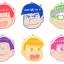 Osomatsu-san - Rubber Coaster vol.2 7Pack BOX(Pre-order) thumbnail 1