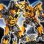 "Legacy OF Revoltech Tokusatsu Revoltech No.LR-50 ""Transformers: Dark Side of the Moon"" Bumblebee(Pre-order) thumbnail 4"