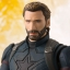 S.H. Figuarts - Captain America (Avengers: Infinity War)(Pre-order) thumbnail 5